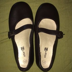 Smart Fit Brown Mary Janes Shoes